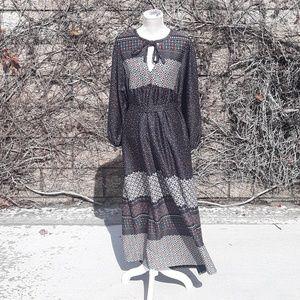 VTG 70s Midi Dress